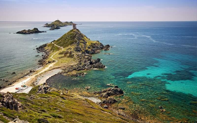 Sanguinaires Islands in Corsica Celebrity Cruises