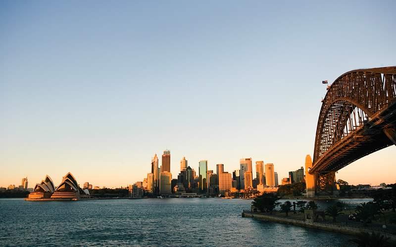 Sydney Harbour Bridge Celebrity Cruises Australia