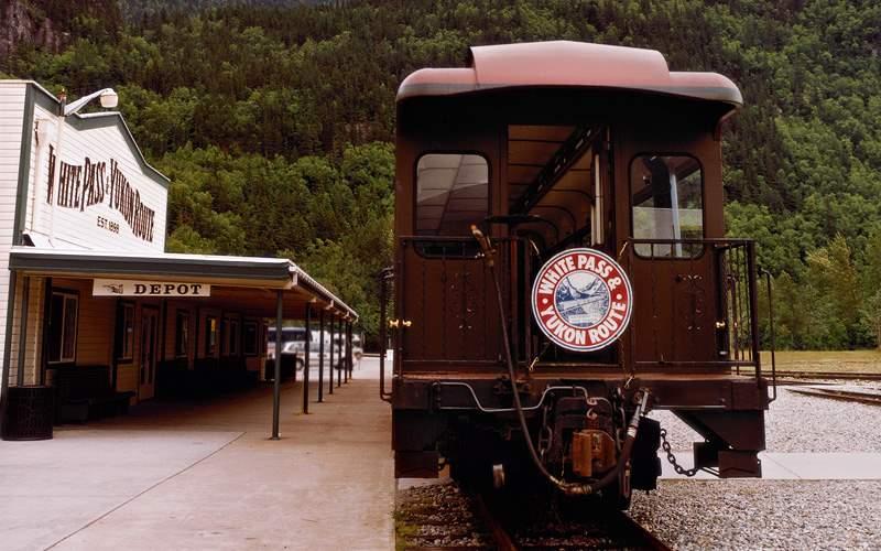 Alaska white pass scenic railway Celebrity Cruises