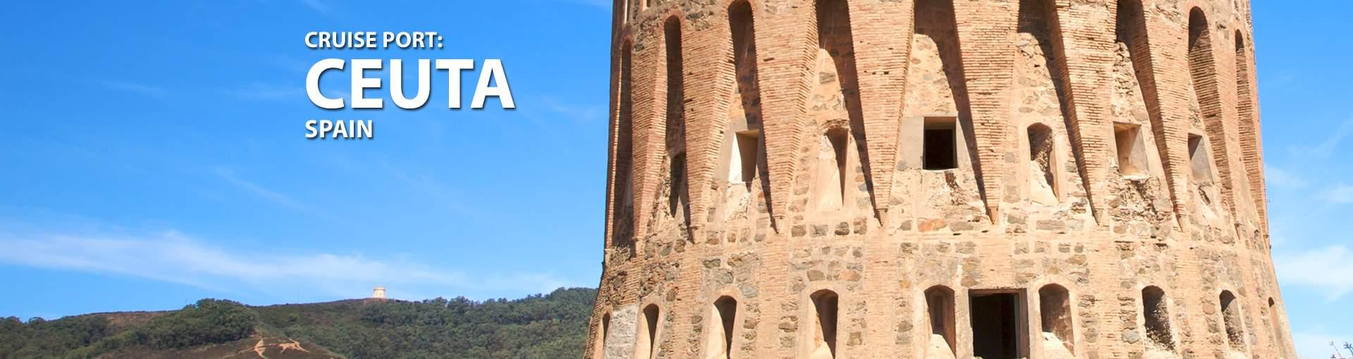 Cruises to Ceuta, Spain