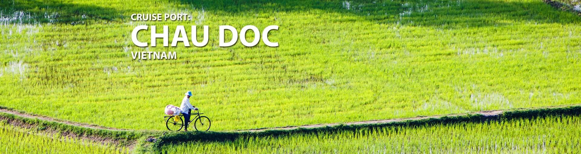 Cruises to Chau Doc, Vietnam