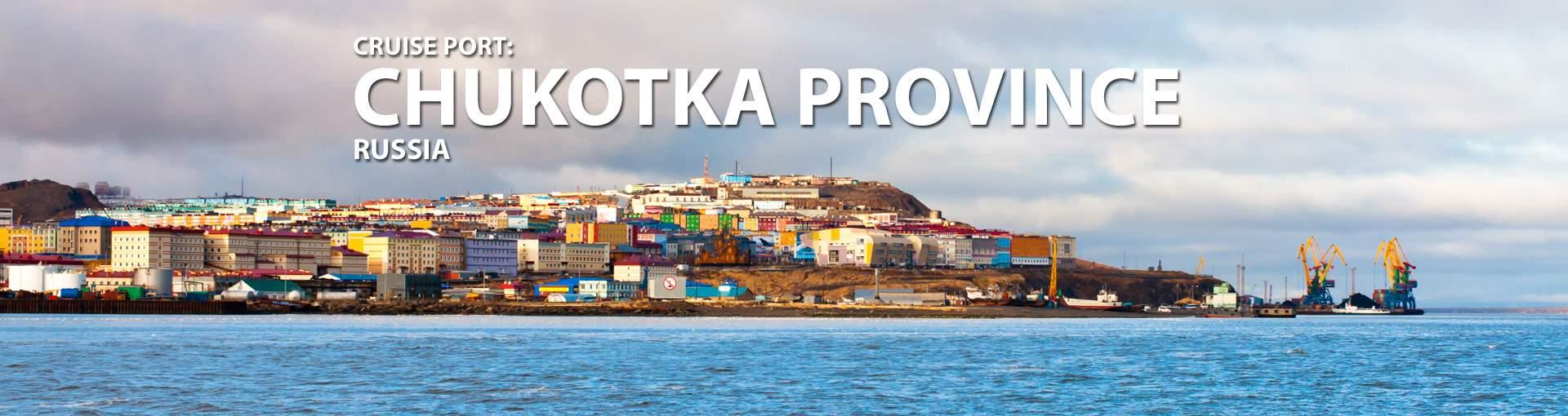 Cruises to Chukotka Province, Russia