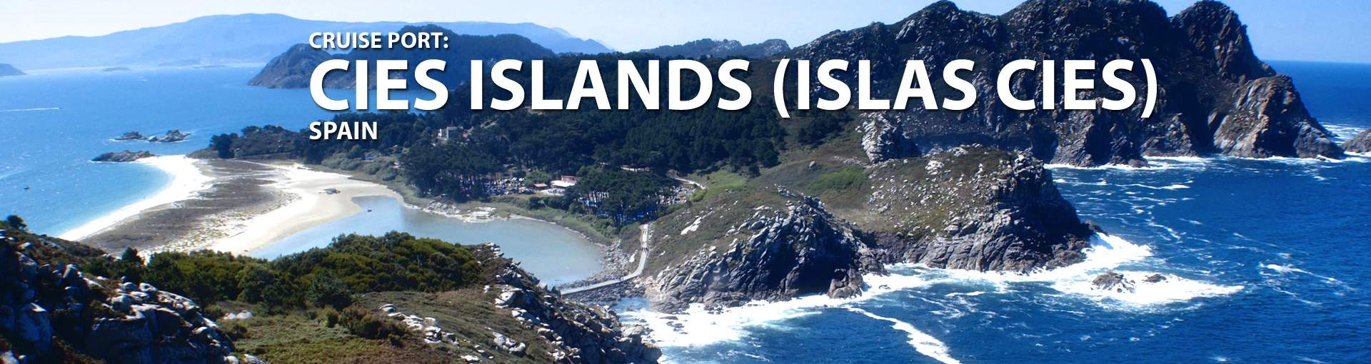 Cruises to Cies Islands (Islas Cies), Spain