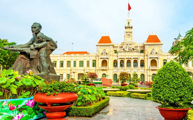 City Hall Ho Chi Minh City Vietnam