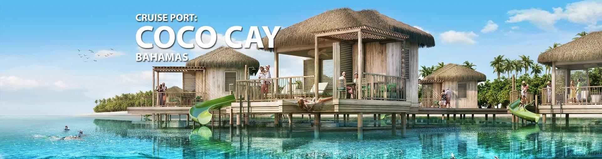 Cruise Port CocoCay Bahamas