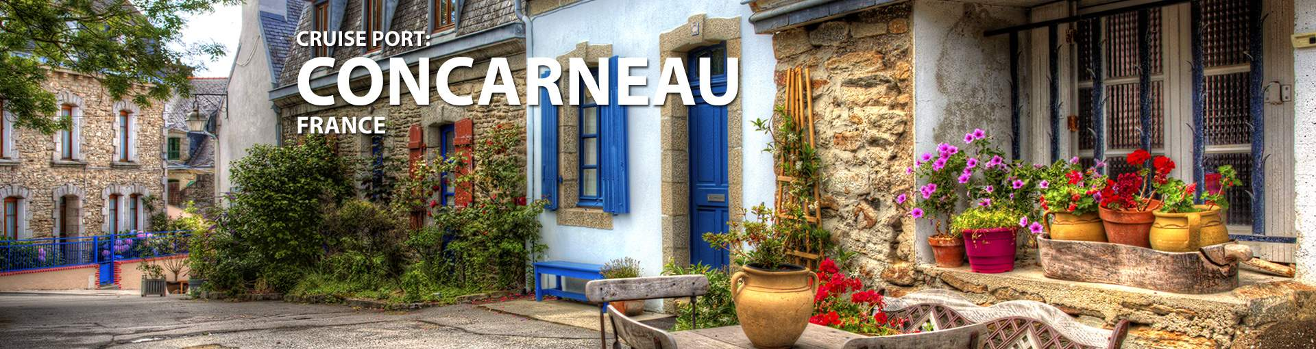 Cruises to Concarneau, France