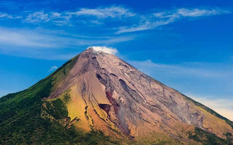 Concepcion Volcano in Ometepe, Nicaragua
