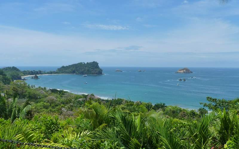 Manuel Antonio Nature Reserve in Costa Rica