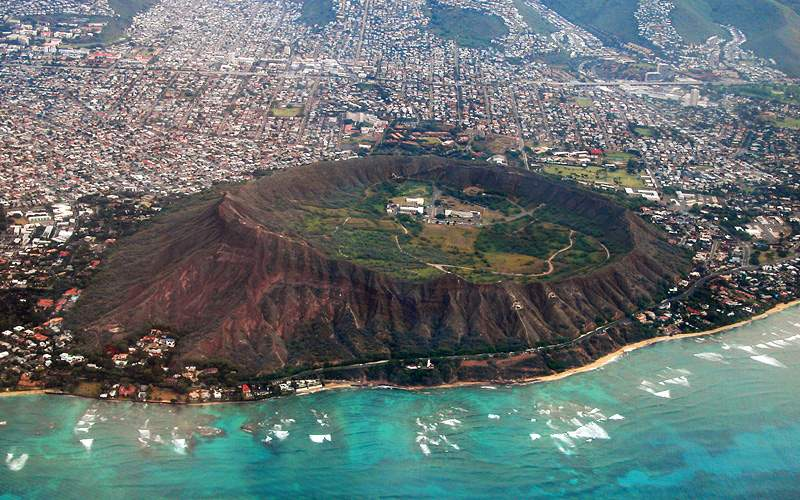 Diamond Head Crater Oahu Hawaii Crystal Cruises