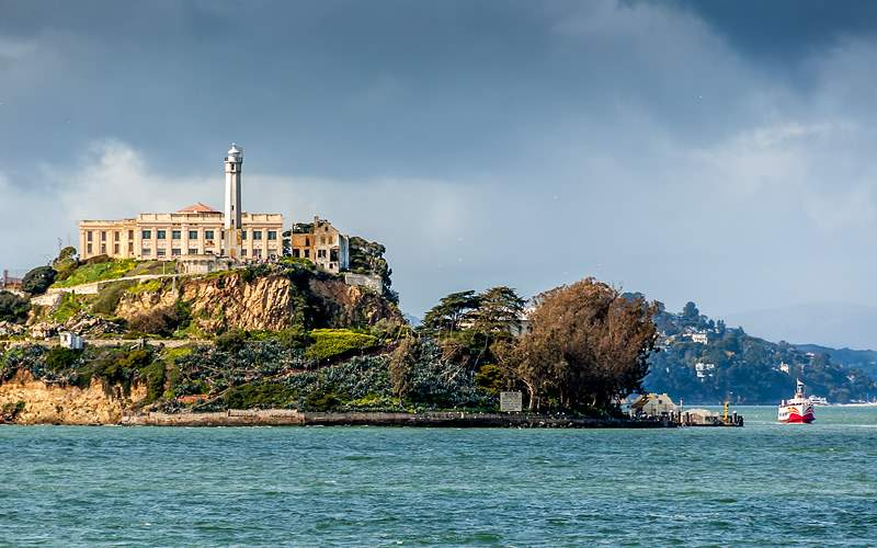 Alcatraz Island in San Francisco Crystal Cruises