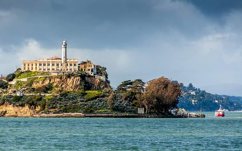 Alcatraz Island in San Francisco Crystal Cruises