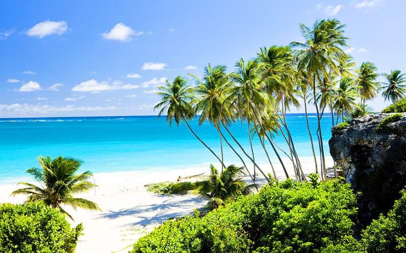 Barbados beach caribbean crystal cruises