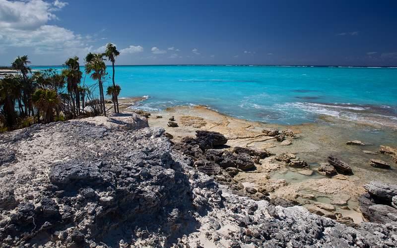 Beach in Turks & Caicos Crystal Cruises Caribbean
