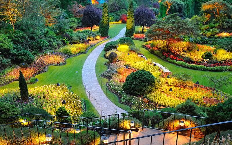 Butchart Gardens British Columbia Crystal Cruises