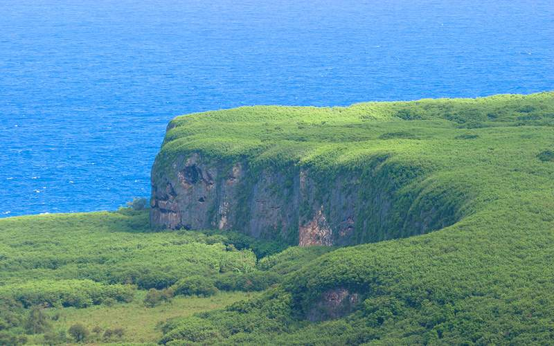 Cape of Saipan, Mariana Islands Crystal Cruises