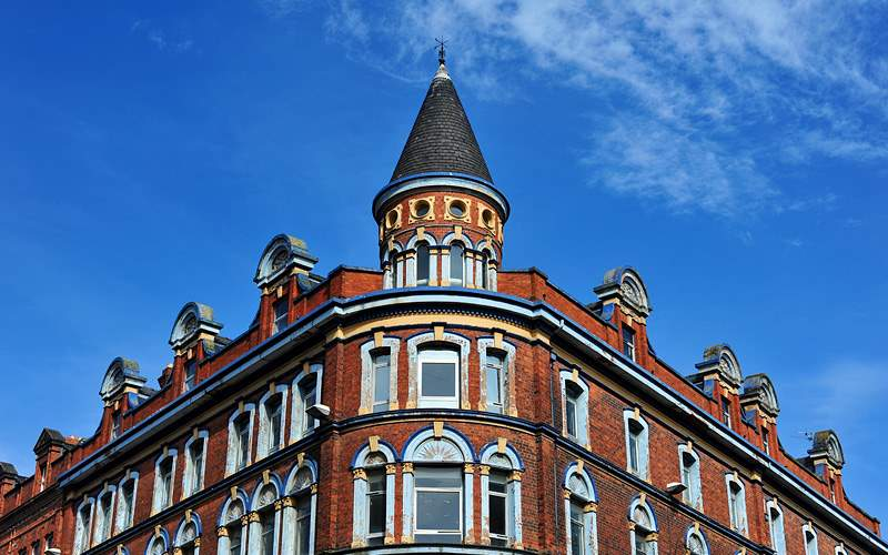 Building in Belfast United Kingdom Crystal Cruises