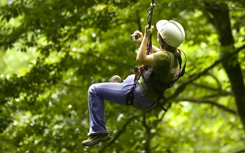 Ziplining Adventure Costa Rica Crystal Cruises