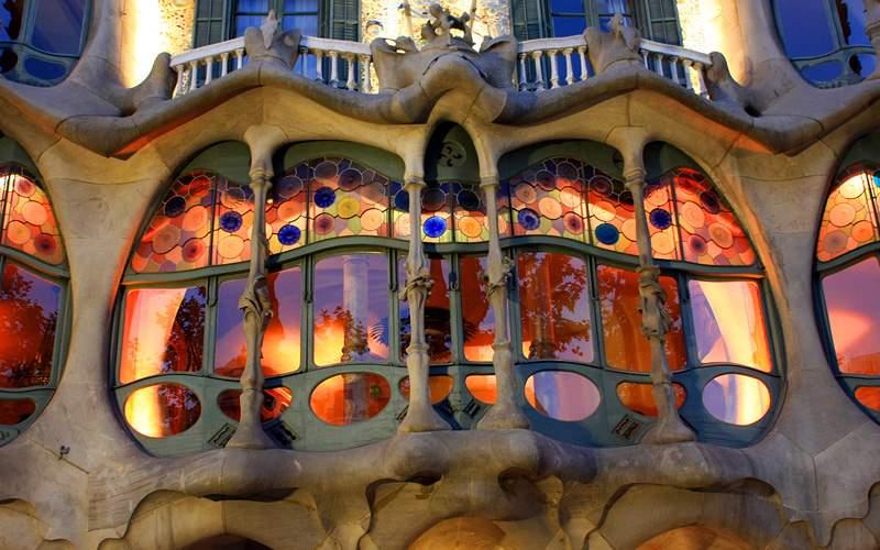 Gaudis famous Casa Batllo Barcelona Crystal Cruise