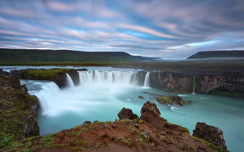 Godafoss Waterfall of Gods Iceland Crystal Cruises