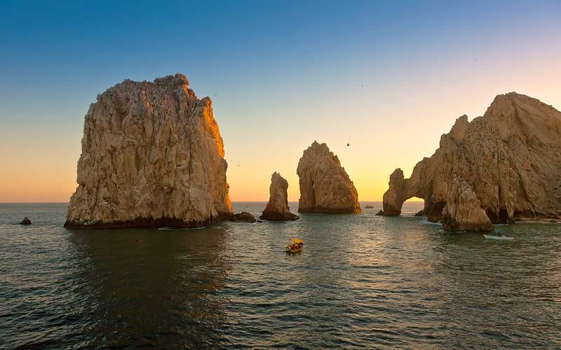 Lands End Arc in Cabo, San Lucas Crystal Cruises