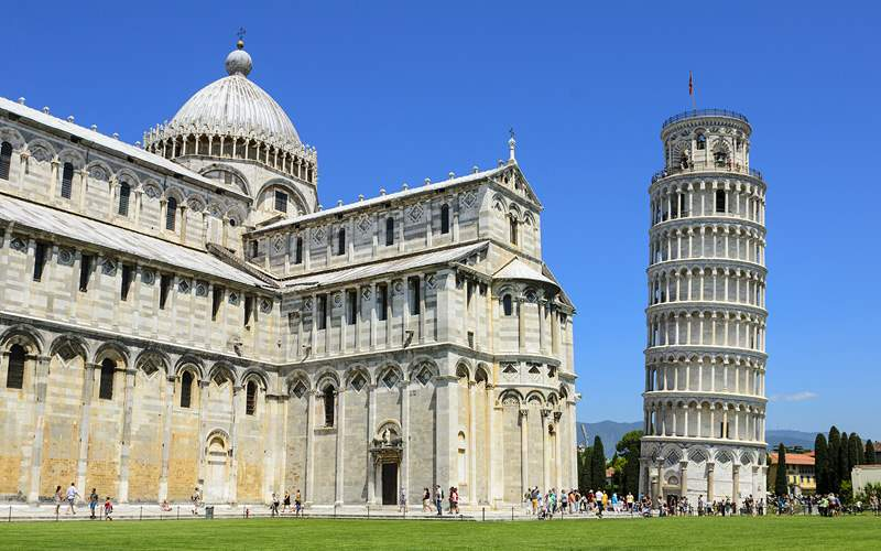 Leaning Tower of Pisa Mediterranean Crystal Cruise