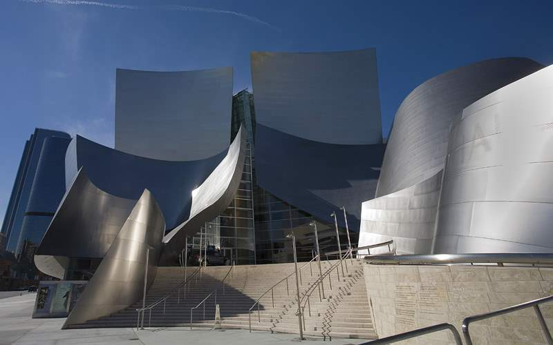 Los Angeles Music Center Buildings Crystal Cruises