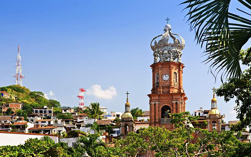 Our Lady of Guadalupe in Puerto Vallarta, Mexico