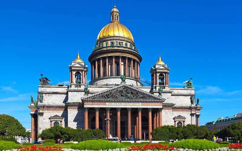 Saint Isaacs Cathedral Russia Crystal Cruises