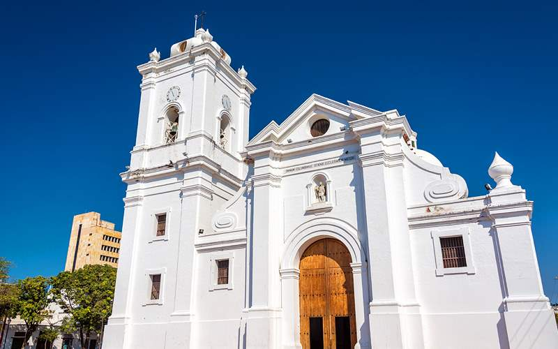 Santa Marta Cathedral in Colombia Crystal Cruises