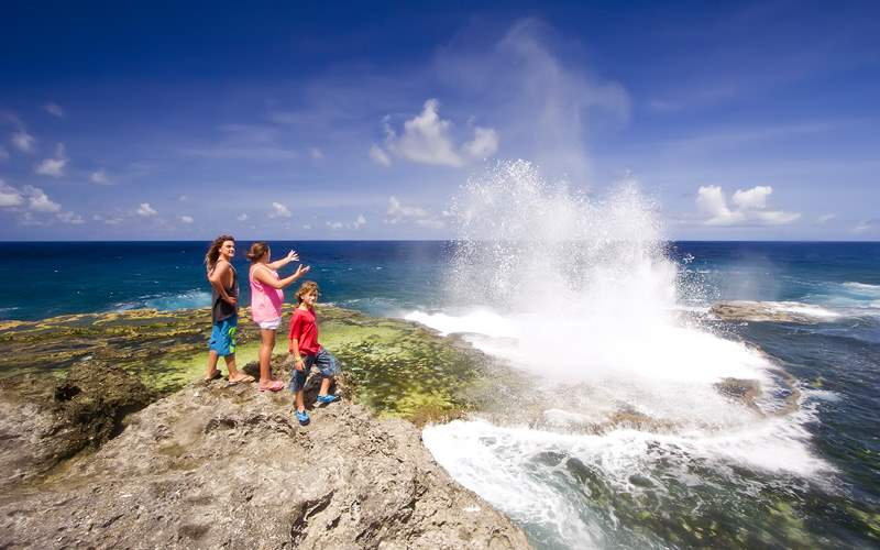Houma Blowholes South Pacific Crystal Cruises