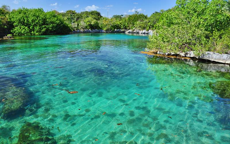 Xel Ha Ecological Park Mexico Crystal Cruises