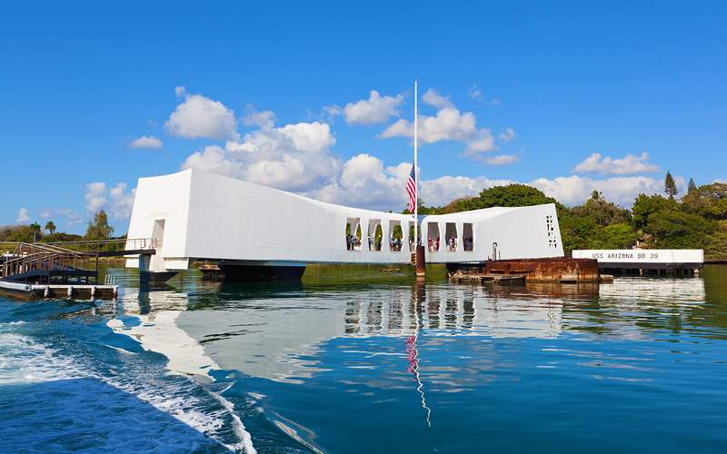USS Arizona Memorial Hawaii Crystal Cruises