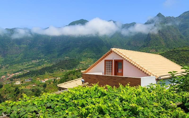 Vineyard Madeira Island, Portugal Crystal Cruises