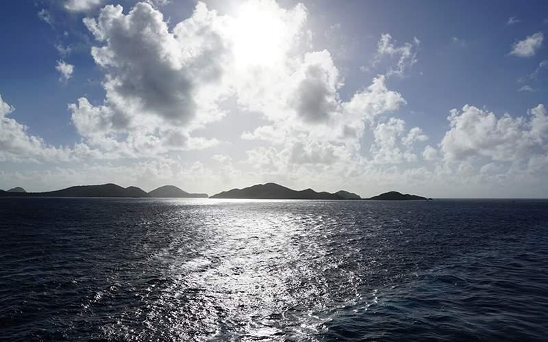 Island Scenery in the Eastern Caribbean