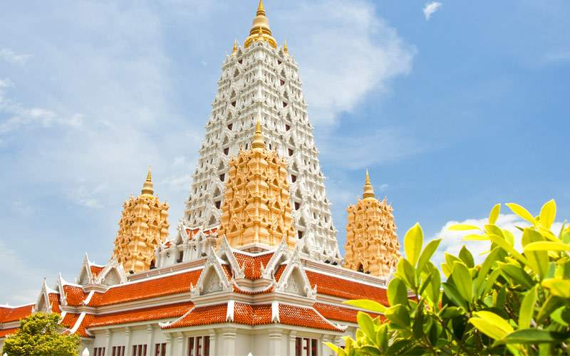 Buddhagaya pagoda Yansangwararam Crystal Cruises