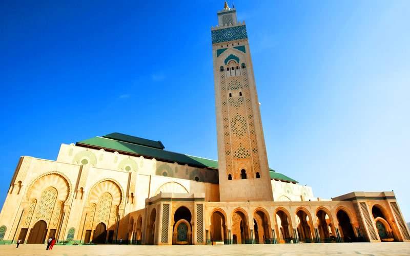 Hassan II Mosque Casablanca Crystal Cruises Africa