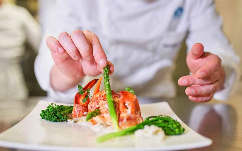 European cuisine with Crystal River Cruises