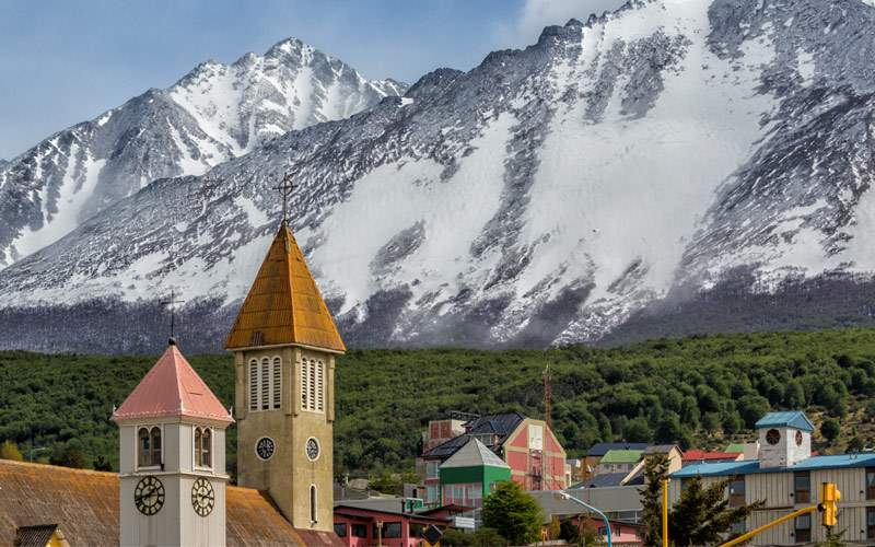 Andes mountains, Ushuaia Argentina Crystal Cruises