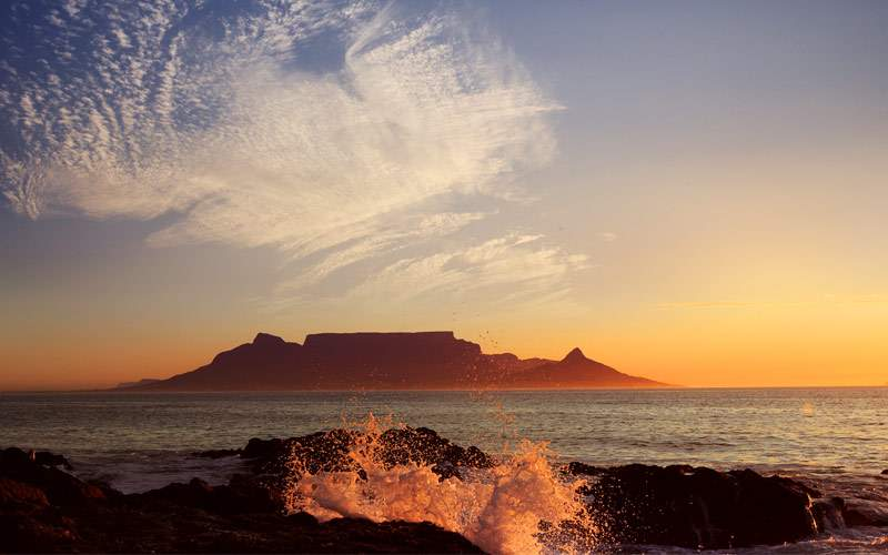 Table Mountain Cape Town Crystal Cruises