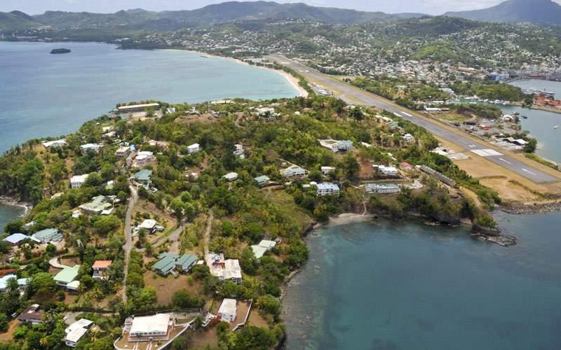 Castries St. Lucia Eastern Caribbean Cunard Line