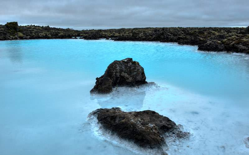 Famous Blue Lagoon, Iceland Cunard Line Europe