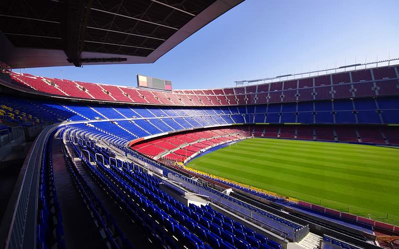 FC Barcelona football stadium Cunard Line