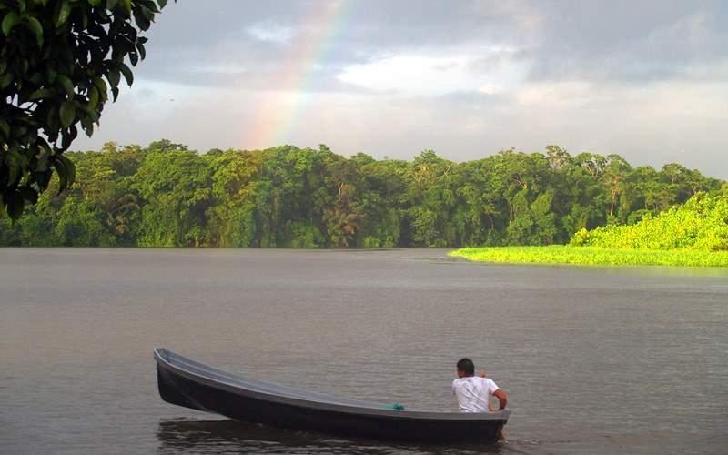 Tortuguero Rainbow in Costa Rica Cunard Line