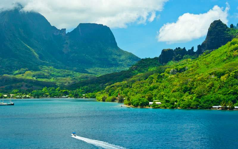 Moorea Islands, Cook