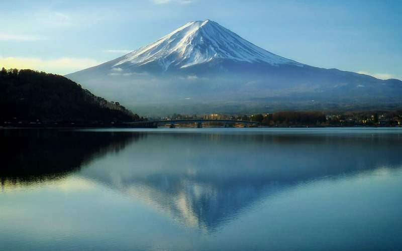 Mount Fuji in Japan - Cunard Line