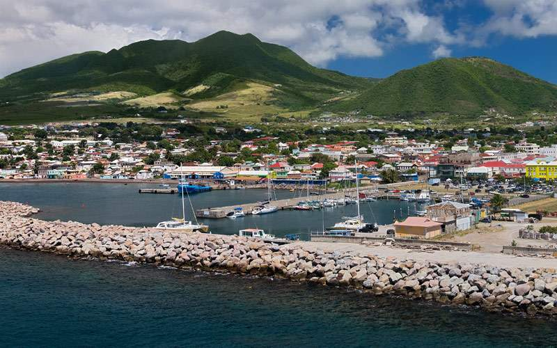 Basseterre, St. Kitts port Cunard Line Caribbean