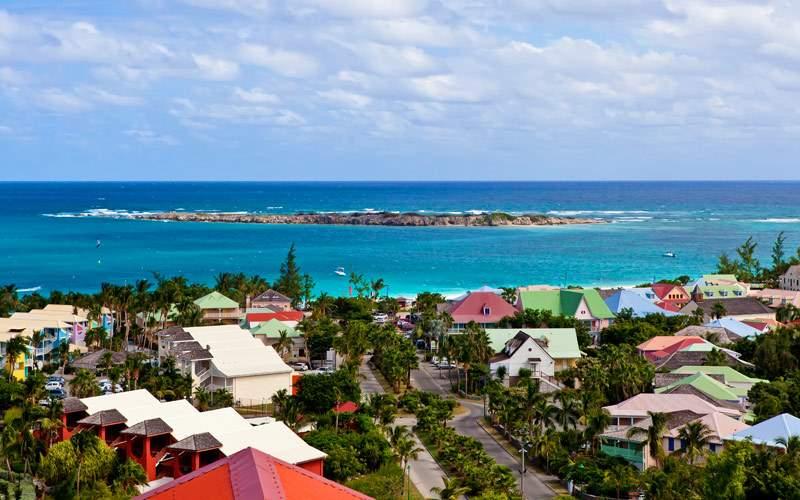 St. Maarten Eastern Caribbean Cunard Line