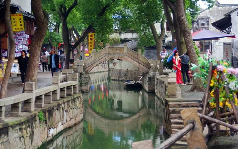 Suzhou Canal in Shanghai - Cunard Line