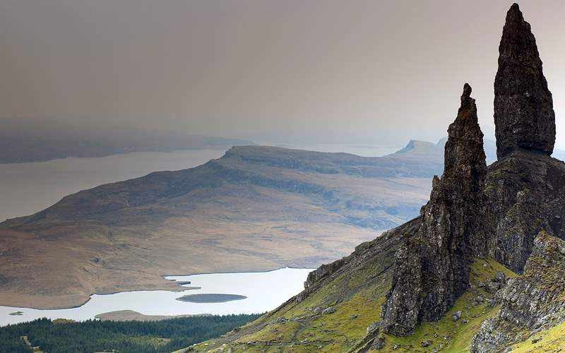 Old Man of Storr Isle of Skye Scotland Cunard Line