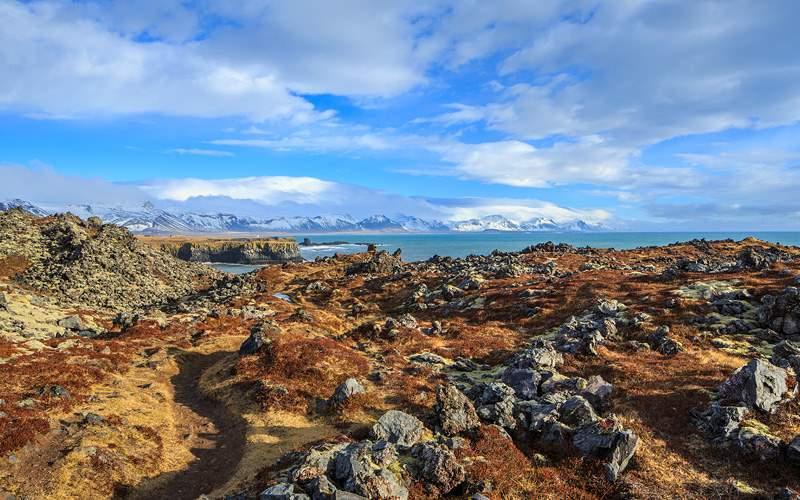 Iceland landscape Northern Europe Cunard Line